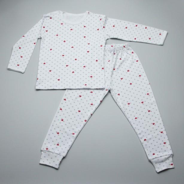 Pijama cu maneca lunga